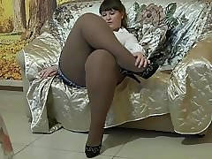 Pantyhose hot videos - bbw ass